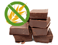 Glutenfreie<br/>Schokoladensalami