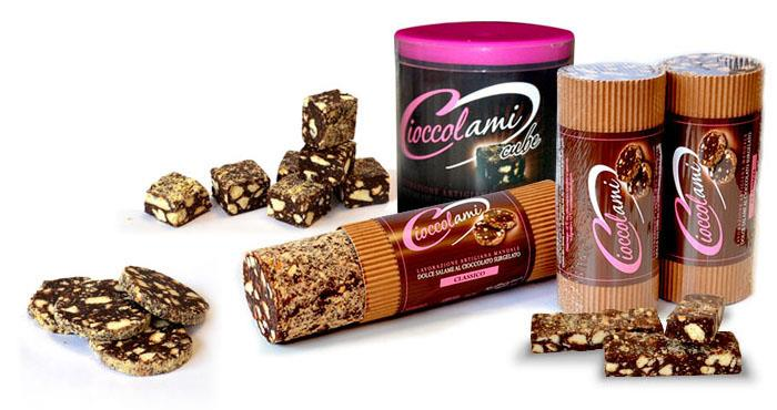 Schokoladensalami: alle Produkte