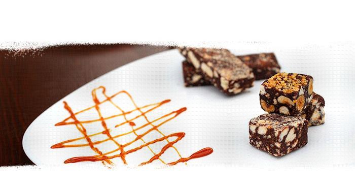 Schokoladensalami - Für unsere Kunden