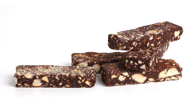 Schokoladensalamiriegel